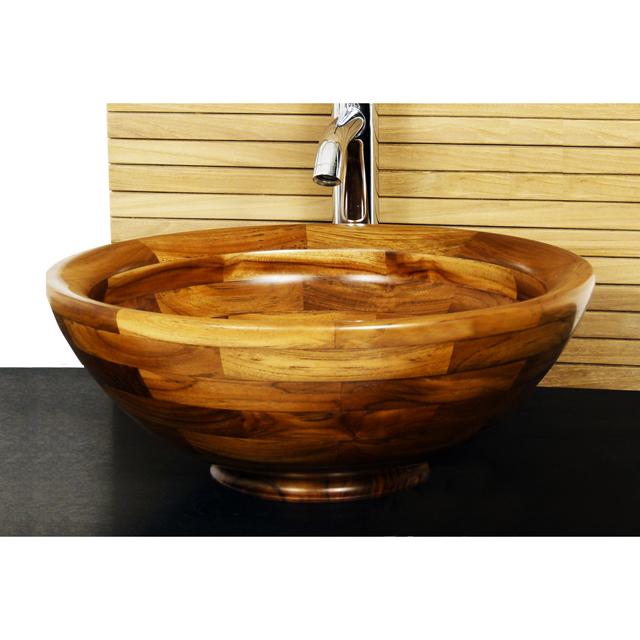 Vasque en bois teck