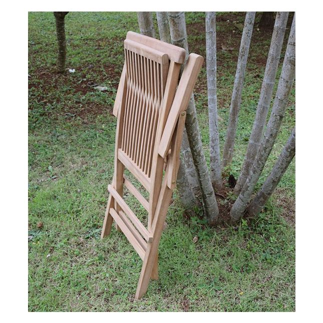 Salon de jardin en teck qualité Ecograde Sarragosse, 6 places