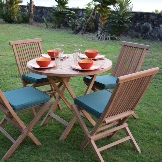 Coussin Vert pour chaises et fauteuils pliants