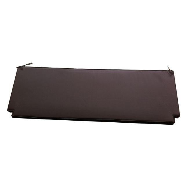 Coussin Chocolat pour banc 150 cm