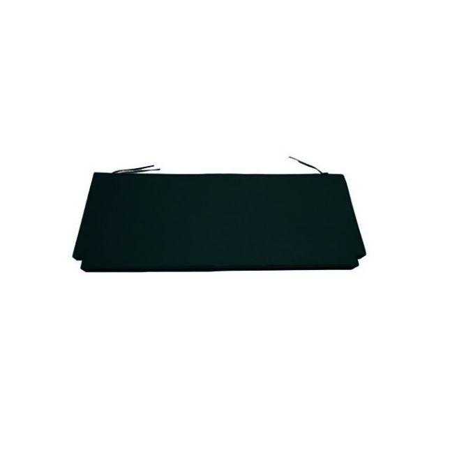 Coussin Noir pour banc 150 cm