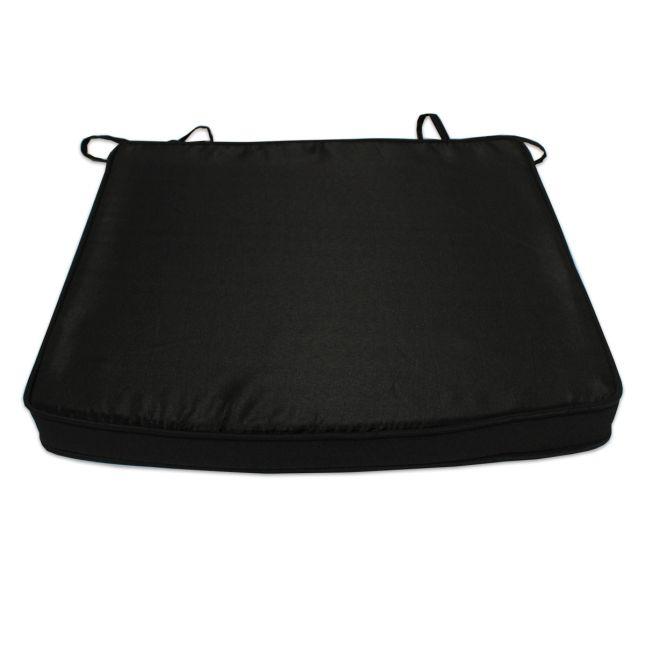 Coussin Noir pour fauteuils fixes
